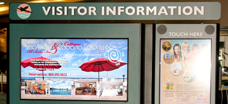 visitor information posters